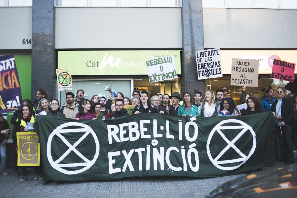 Carta abierta a la CCMA: Demostración Extinction Rebellion