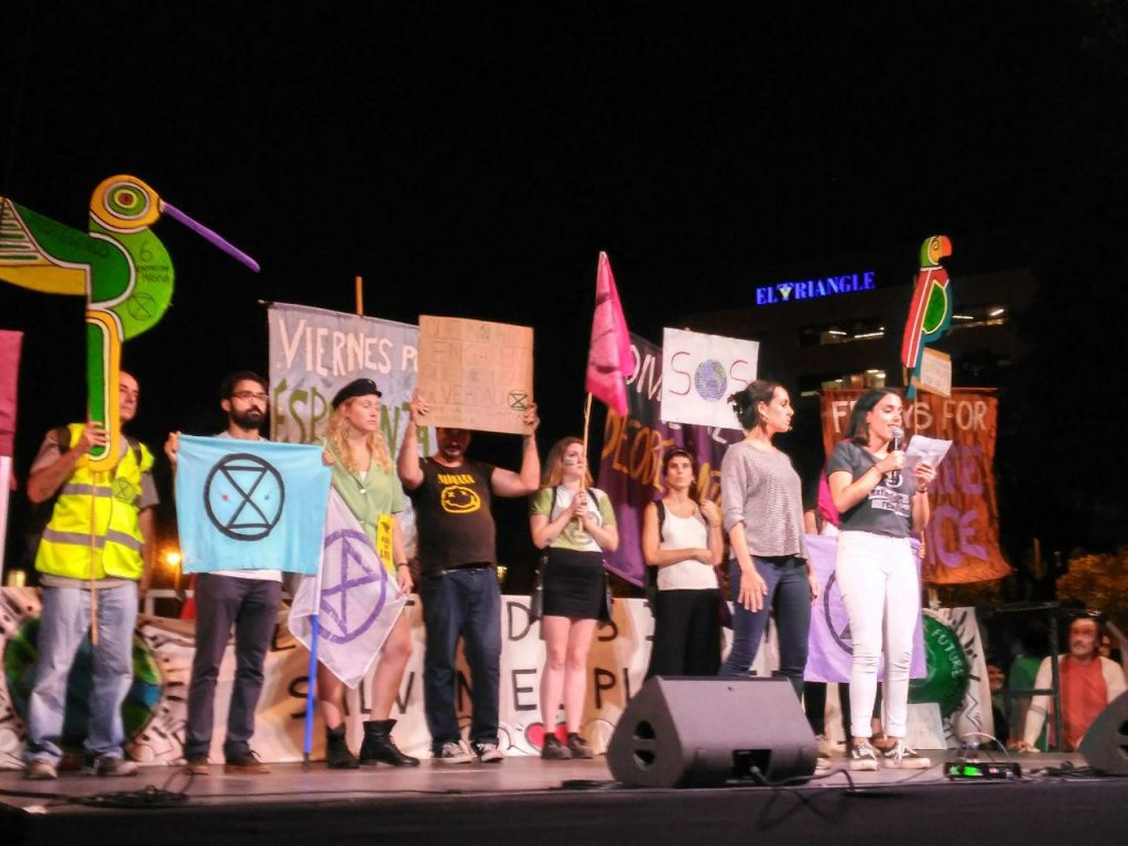 XR Barcelona at the Global climate Strike