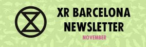 XR Barcelona NewsletterNovember