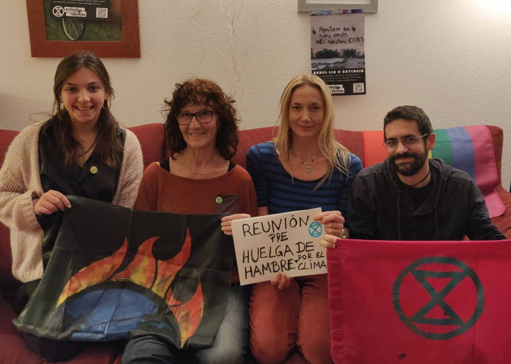 Hunger strike for the climate: Preparation meeting