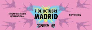 Event Banner: 7 Octubre, Madrid, Segona Rebel·lió Internacional