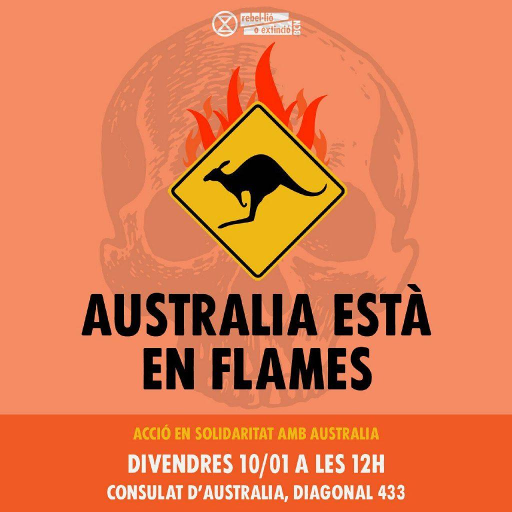 Australia esta en llamas
