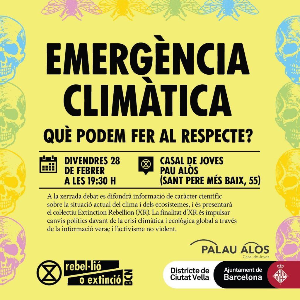 Charla: Emergencia climática i qué podemos hacer al respecto