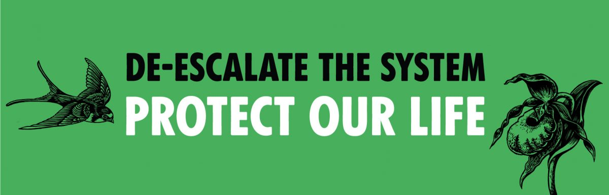 De-escalate the system banner