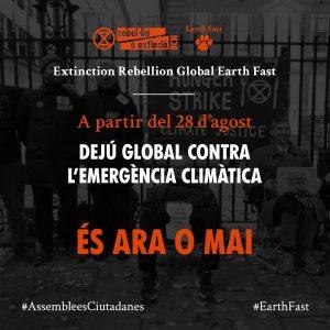 Pòster dejú global 28 d'agost