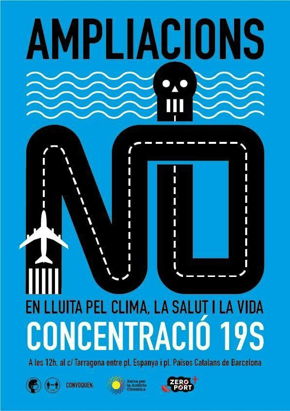 cartell contra ampliacions 19s