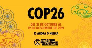 Breve información de la COP26